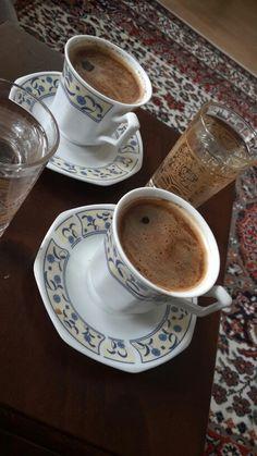Turkish coffee - Food and drink - Good Morning Coffee, Coffee Cozy, Great Coffee, Coffee Break, Coffee Time, Drink Coffee, Coffee Art, Iced Coffee, Tea Time