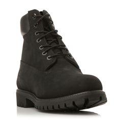 Timberland Classic nubuck worker boots, Black