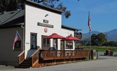 Historic Sebastian's General Store and home Hearst Ranch Winery Tasting Room
