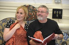Bridie Higson and Norman Pace in rehearsal for Charlie Peace: His Amazing Life & Astounding Legend. Credit Robert Day.