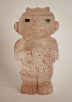 Chavin /Cupsinique Tumbladara quarts crystal stone temple figure c 600bc
