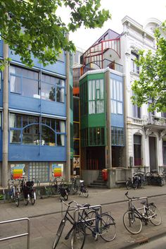 The World's Best Photos of aldovaneyck Aldo Van Eyck, Amsterdam Architecture, World Best Photos, Netherlands, Cool Photos, Street View, House, Building, Architects