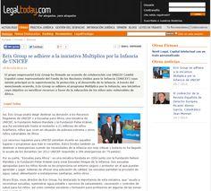 """Ecix Group se adhiere a la iniciativa """"Multiplica por la Infancia"""" de UNICEF, en Legal Today"""