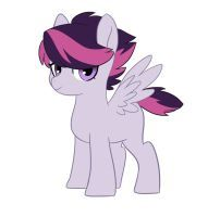 Name: Echo  Nicknames: Coco (by parents)  Parents: Scootaloo, Rumble  Age: 10