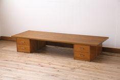 和製アンティーク リメイク 小引き出し付きで便利な組み立て式裁ち板(座机、ローテーブル、作業台)(R-044202) Decor, Desk, Furniture, Home Decor, Office Desk