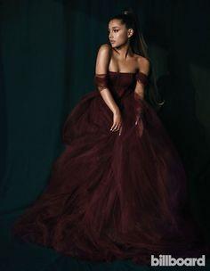 Ariana Grande - Photoshoot for Billboard Cabello Ariana Grande, Ariana Grande Fotos, Ariana Grande Photoshoot, Ariana Grande Outfits, Ariana Grande Pictures, Ariana Grande Vestidos, Strapless Dress Formal, Prom Dresses, Formal Dresses