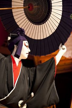 beifongkendo: Scene from the kabuki play 'Sukeroku', Kyoto (photo by Icanus Japan).