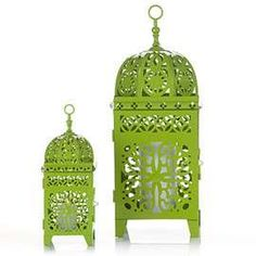 CASABLANCA LANTERNS - GREEN