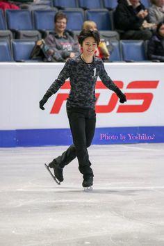 161.スケカナ SP前公式練習   ✨宇野昌磨君トーク と 日々日常 美咲のブログ✨ Skate Canada, Japanese Figure Skater, Shoma Uno, Figure Skating, Sporty, Mushroom, Face, Fashion, Ice