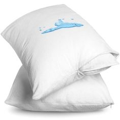 Bare Home King Size Premium Pillow Protector 2 Pack - Waterproof - Vinyl Free Hypoallergenic - 10 Year Warranty - (King, Pack of Size: King Luxury Sheets, Bedding Basics, King Pillows, Pillow Protectors, Best Pillow, Mattress Protector, Cotton Pillow, King Size, Stains