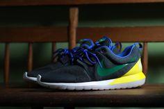 Nike Roshe Run NM Brazil   Grey/Yellow
