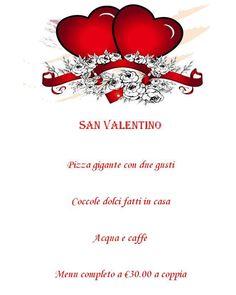 San Valentino Da Michele menu a 15€