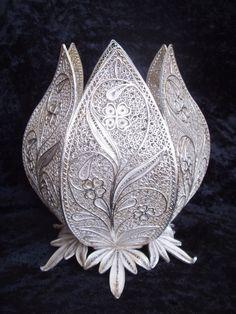 Немецкое столовое серебро Runde Vase
