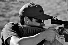 Brian Leslie of SoCal Precision Rifle Team. (Crossbow, photo credit Dustin Thompson)