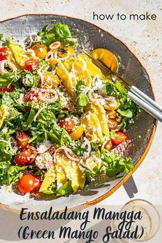 How to make Ensaladang Mangga (Green Mango Salad)