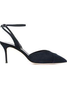 GIUSEPPE ZANOTTI Slingback Pumps. #giuseppezanotti #shoes #pumps