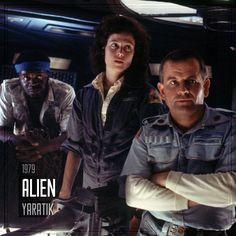 Film Önerisi : Alien (Yaratık), 1979. #koseliobjektif #instagram #facebook #twitter #youtube #pinterest #film #sinema #fragman #movie #cinema #trailer #films #movies #trailers #imdb #alien