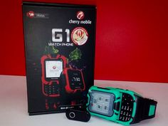 Cherry Mobile G1 Watch Phone in stores for only PHP1,699 this 2014! | Geeky Pinas
