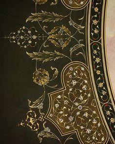 Günlerden bir gün.#art #elyapimi #geleneksel #gelenekselsanat #gelenekselsanatlar #gold #handmake #islamic #islamicart #illumination #hatsanati #calligraphy #islamiccalligraphy #sanat #traditionalart #traditional #tasarım #tezhip #tazhib #tezhipsanati