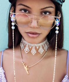 DIYable glasses chain