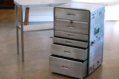 REHAB Vintage Interiors - Vintage Steel Desks, Retro Office Furniture, Metal Lawyers Cabinets ($500-5000) - Svpply https://svpply.com/item/881551/REHAB_Vintage_Interiors__Vintage