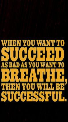 So true unless you have asthma then sometimes the only choice you have is to stop so you can breath!