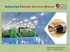Our team is #knowledgeable and tremendously skilled to provide the #high-quality performance. Ideal coordination assures that we're carefully watching. each and each time you need #industrial #electric services, #A-plus is your ideal option.