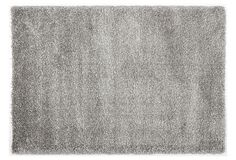 One Kings Lane - Textured Ground - Sasha Shag Rug, Silver