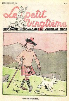 Tintin en écosse