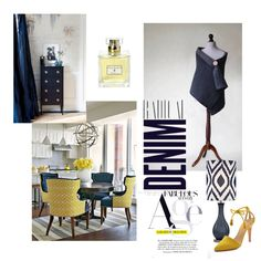 DENIM by mdrozd on Polyvore featuring moda, Ulla Johnson, Kat Burki, Alima, Windsor Smith and modern