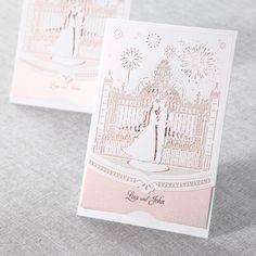Fairy Tale Wedding Lasercut - Wedding Invitations