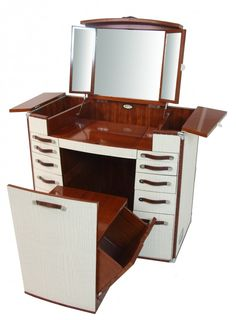 desirade dressing table with mirror vanity white