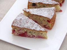 Coconut Raspberry Cake via Bakers Royale