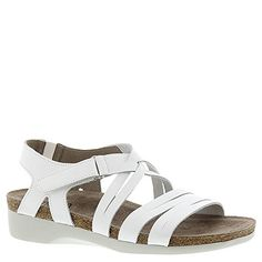 63a5cb607dd4 Munro Kaya White Leather Womens Sandals     You can find more details by  visiting the image link.