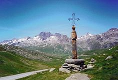 col de croix de fer - France - i have stood on this - in the Alps - Awesome!!