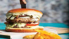 Το πετυχημένο περιοδικό μαγειρικής στον υπολογιστή, tablet ή κινητό σου! Αγαπημένες συνταγές από επώνυμους σεφ μαζί με τιπς και συμβουλές για την κουζίνα! Hamburger, Meat, Ethnic Recipes, Food, Essen, Burgers, Meals, Yemek, Eten