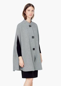 so #gorgeous but so expensive! #mango #cape #pieddepoule #houndstooth #clothesporn #covetme