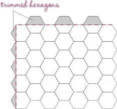 quilten met hexagons - Google zoeken