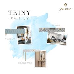 Qual a sua peça preferida da família Triny? ❣️ What's your favourite piece of Triny family? Tv Stand Sideboard, Console Table, Luxury Home Decor, Luxury Homes, Design Interiors, Interior Design, Family Tv, The Perfect Touch, Luxury Furniture