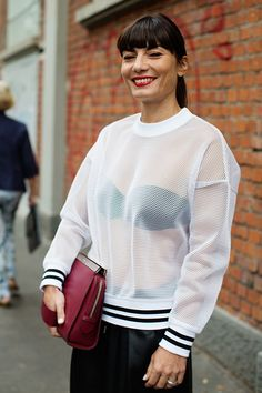 On the Street…..At Fendi, Milan « The Sartorialist http://www.AmericasMall.com