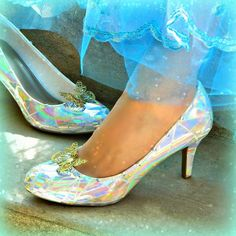 How to make a wearable version of Cinderella's Glass Slippers