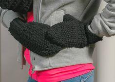 Mitaines pour femmes tricotées à la main par CreationsArtPhoto
