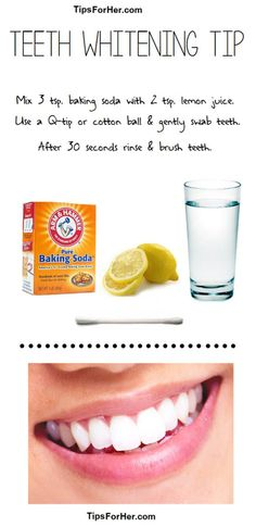 Check out How To Whiten Your Teeth Naturally at makeuptutorials.c...