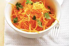 Kijk wat een lekker recept ik heb gevonden op Allerhande! Wortel-citrussalade. 50 kcal; 1 g eiwit; 4 g vet; 3 g koolhydraten