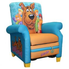 Scooby-Doo Kids Recliner Chair.