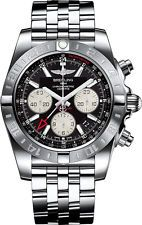 Breitling Chronomat 44 GMT Mens Watch Stainless Steel 44mm AB042011/BB56