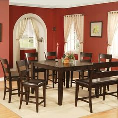 8-Piece Counter Height Set   Nebraska Furniture Mart