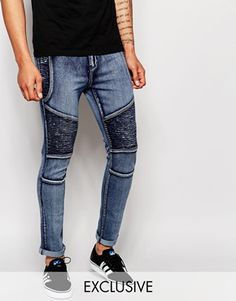 From Asos! the liquor and Poker Biker jeans