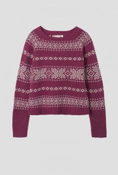 Sleuth Jumper from Seasalt. Sustainable Clothing, Sustainable Fashion, Ethical Fashion, Womens Fashion, Comfort And Joy, Fair Isle Pattern, Catwalk Fashion, Fair Isle Knitting, Jumpers For Women