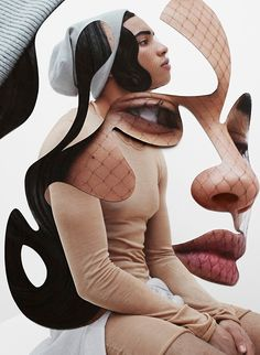 DAMIEN BLOTTIERE / Collage #fashion #StillLife